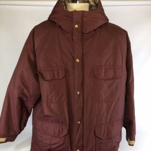 Woolrich Parka Jacket Coat 85% Wool Blanket lined